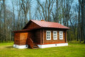 Small Wooden House Royalty Free Stock Image - 14141026