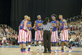 Harlem Globetrotters Basketball Team In An Exhibit Royalty Free Stock Photos - 14149208