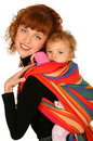 Mother With Baby Girl Stock Photo - 14155660