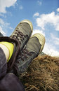 Retro Styled Sneakers Royalty Free Stock Photo - 14156005