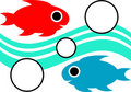 Swimming Fishes Royalty Free Stock Photography - 14157277