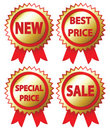 Sale Stickers Stock Images - 14157504