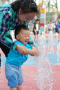 Yong Mother And Little Kid Royalty Free Stock Photography - 14157517