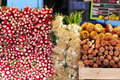 Vegetables At Market Royalty Free Stock Image - 14159566