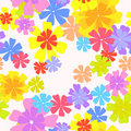 Vector Floral Pattern Royalty Free Stock Photos - 14164288