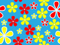 Vector Floral Pattern Royalty Free Stock Image - 14164326