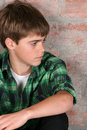 Serious Teen Royalty Free Stock Photography - 14164797