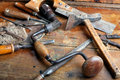 Vintage Woodworking Tools Stock Image - 14166811