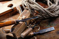 Vintage Woodworking Tools Royalty Free Stock Photography - 14166837