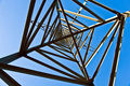 Electricity Tower For Energy With Sky Stock Images - 14195554
