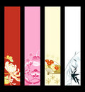Asian Art Banners Royalty Free Stock Image - 14203346