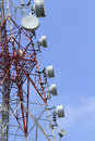 Telecommunications Tower Royalty Free Stock Image - 14203466