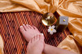 French Pedicure Royalty Free Stock Images - 14204679