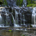 New Zealand Waterfall Royalty Free Stock Photography - 14209507
