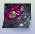 Music Doodle Royalty Free Stock Image - 14212506