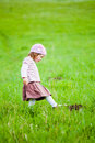 Curious Little Girl Royalty Free Stock Photos - 14258108