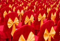 Red Chairs With Bowknot Royalty Free Stock Photo - 14268585