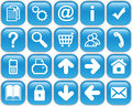 Blue Buttons Royalty Free Stock Images - 14274179
