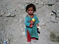 Poor Girl In Afghanistan Stock Image - 14277311