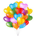 Bunch Of Colorful Heart Shape. Vector Royalty Free Stock Photo - 14297805