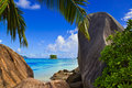 Beach Source D Argent At Seychelles Stock Photography - 14298552