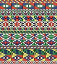 African-tribal-art Pattern S Frame Stock Photos - 14303383