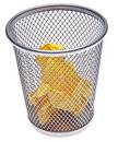 Full Trash Can Royalty Free Stock Photo - 14309935
