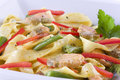 Pasta With Salmon Royalty Free Stock Photography - 14319867