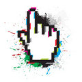 Hand Mouse Symbol Royalty Free Stock Image - 14349666