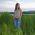 Woman In Tall Grass Royalty Free Stock Photo - 14350495