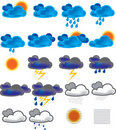 Weather Icons Royalty Free Stock Photography - 14350667