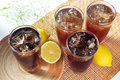 Ice Lemon Tea Stock Image - 14380141