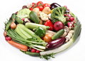 Vegetables In A Shape Of Oval Stock Images - 14380344