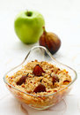 Crumble With Apple And Figs Stock Photo - 14381640