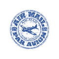 Air Mail Grunge Rubber Stamp Stock Photography - 14382282