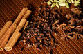 Selection Of Exotic Spices Royalty Free Stock Photos - 14387358