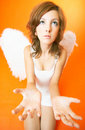 Troubled Angel Royalty Free Stock Photo - 1444845