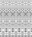 African-tribal-art Pattern Royalty Free Stock Image - 14404946