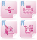 Hotel Related Icons Stock Images - 14406934