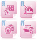 Hotel Related Icons Royalty Free Stock Images - 14406939