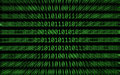 Zoomed Binary Numbers Stock Images - 14439494