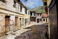 Old Street Of Bar Town In Montenegro Stock Photos - 14467383