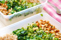 Packed Meal Boxes Of Vegetables Royalty Free Stock Photography - 14472907