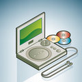 Portable DVD Player Royalty Free Stock Photo - 14481565