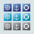Nautical Elements Royalty Free Stock Images - 14489019