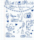 Alfred Doodle Set 8 Royalty Free Stock Photography - 14489127