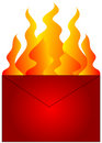 Red Hot Mail Royalty Free Stock Photography - 1454927