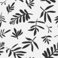 Seamless Background With Leaves Stock Photo - 14501280