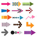 Set Of Colored Arrow Icons Stock Photo - 14517880