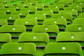 Stadium Seats Royalty Free Stock Photos - 14521868